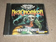 NECRONOMICON - the devils tongue  CD