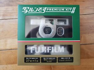 DISCONTINUED Fujifilm Premium II Kit 400 ISO 27 Exp Camera Shell w/ Strap