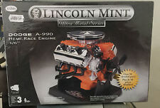 Testors Lincoln Mint Dodge A-990  Hemi Race EngineEscala 1/6, Nuevo Metal