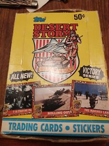 1991 Topps Desert Storm Trading Card /stickers opened Cards Victory Series