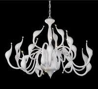 NEW Modern Swan Pendant Light Suspension Chandelier Ceiling Lamp 9/12/18 lights