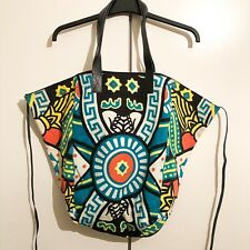 KTZ Kokon To Zai Multicolour Red/Blk/Green/Yellow Tarot Shopper/Manbag RRP: £255