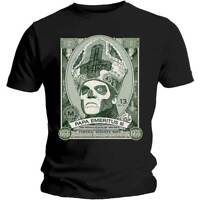GHOST Papa Cash Mens T Shirt Unisex Tee Official Licensed Band Merch