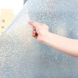 Room Bathroom Home Window Film Door Privacy Bath Sticker PVC Frosted UK