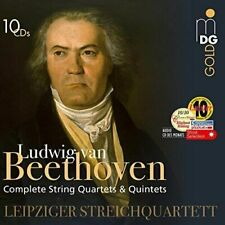 Beethoven Complete String Quartets & Quintets 10cds Audio CD