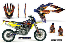 AMR Racing MX Husqvarna SM/SMR 125/510 Graphic Kit Bike Decal Part 05-10 FIRSTRM