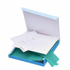 "36 Pcs/Kit Green Dental Rubber Dam Sheet Natural Latex Dura Dam 6"" x 6"" Inches"