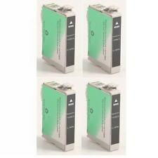 4 Remanufactured Black Ink Cartridges for Epson Artisan 50 78 T078120 T0781