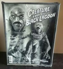 UNIVERSAL MONSTERS GEOMETRIC CREATURE FROM THE BLACK LAGOON MODEL KIT UNBUILT!