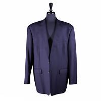 Ralph Lauren Men's Blazer Wool Navy Blue 2 Button Sport Coat Suit Jacket 50R