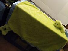 Baby Ganz  * FROG.* Baby Bundle Security Blanket Lovey Satin Edge Cute