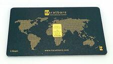 Karatbars One Gram 999.9 Fine Gold Bar G439