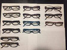 New Authentic Judith Lieber Eyeglass Frames Lot Of 13