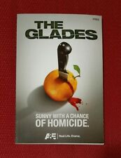 THE GLADES A&E Drama Television TV SCRIPT aetv Promo Advertising Giveaway pb