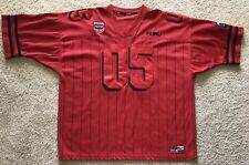 Vintage Fubu Official Xxl Champions 05 Limited Edition Red Pinstripes Jersey Xxl