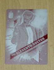 2016 Topps Doctor Who Timeless print plate Magenta Eleventh Doctor 11 of 13 1/1