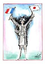KARL LAGERFELD sketch - Coco Chanel France/Japan 2012 - print