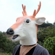 Halloween Horror Animal Head Simulation Mask Headgear For the Party Toy Gift AU