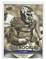 2012 Upper Deck Star Rookies Cyrus Gray #168 Rookie Gold 06/10