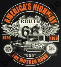 T-Shirt Nr.426 Gr.S-M-L-XL-2XL anthrazit Biker Hot Rod PinUp Rockabilly V8