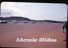 1964 35mm  Photo slide   sports cars club  show racing event    Oregon