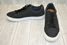 Supply Lab Mark Cotton Canvas Skate Shoes, Men's Size 11D, Black