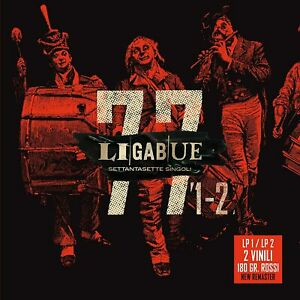 LIGABUE - 77 Singoli (Lp 1+Lp 2) (180 Gr.) (2021) 2 LP red vinyl + box