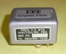 Quarzfilter Crystal Filter ITT Freq. 11,5 Mc