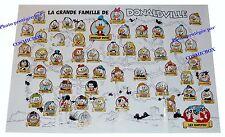 Affiche La Grande Famille de DONALDVILLE poster arbre généalogique DONALD PICSOU