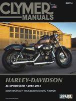 2004-2013 Harley Davidson Sportster XL 883 1200 CLYMER REPAIR MANUAL M427
