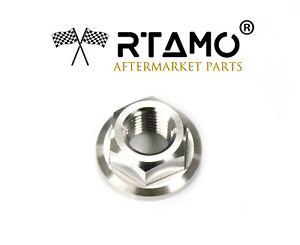 RTAMO | M8 M10 M12 M14 M16 M18 Various Size Titanium Alloy Gr5 Hex Flange Nuts