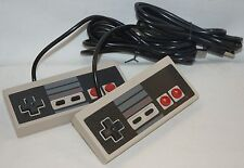 2 x NEW Retro USB Nintendo NES 8 Bit PC COMPUTER Game Controller Windows-7/8/XP