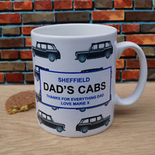 Dads Cabs Mug - Personalised Taxi Fathers Day Birthday Gift