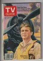 Tv Guide Mag Robert Conrad The Black Sheep Squadron July 15-21, 1978 110519nonr