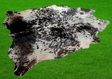 "New Cowhide Rugs Area Cow Skin Leather 22.50 sq.feet (60""x54"") Cow hide A-724"