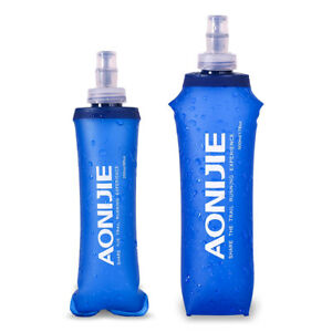 AONIJIE Sports Faltbare BPA PVC Trinkflasche weichem fließendem Wasserkoche B4U1