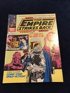 Star Wars UK Empire Strikes Back Weekly 129 1st App Boba Fett