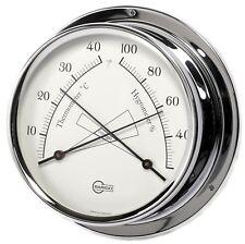 SHIP Hygrometer/Thermometer BARIGO Regatta Chrome