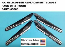 R/C HELICOPTER REPLACEMENT BLADES PACK OF 4 INDIVIDUAL BLADES Part# 5008