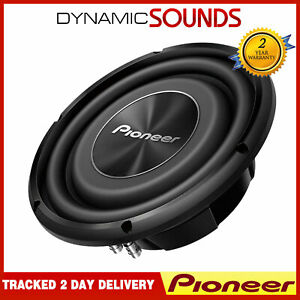 "Pioneer TS-A3000LS4 1500 WATTS 12"" A Series Shallow Mount Component Subwoofer"