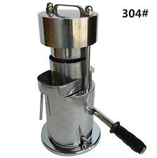 CE 10T Hand Type Hydraulic Fruit Sugar Cane Juicer / Fruit Juice Extractor