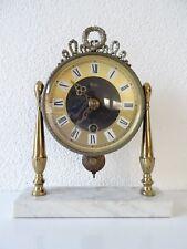 Dutch PLATO Vintage Mantel Mid Century clock  (Junghans Hermle Kienzle era)