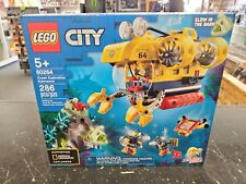 LEGO City Ocean Exploration Submarine Building Kit (286 Pieces) 60264