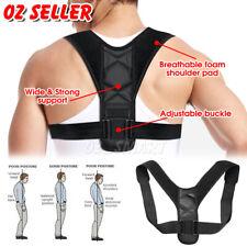 AU Adjustable Posture Corrector Shoulder Brace Back Support Strap Belt