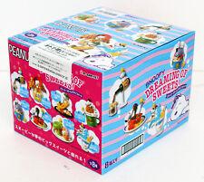 Re-ment 250519 Snoopy Dreaming de Bonbons 1 Box 8 Figurines Ensemble complet