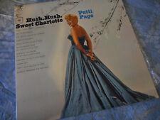 Patti Page Hush Hush Sweet Charlotte  Vinyl LP