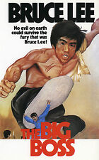 Framed Bruce Lee Movie Print – The Big Boss 1971 (MMA Martial Arts Picture)
