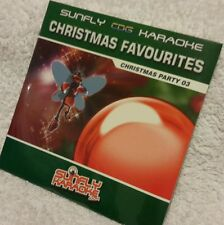 Karaoke cdg Christmas disc,SFCP003,Sunfly Xmas Party Favs 3,see Descript,14 trks