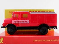 """Busch/Espewe 95604 IFA S4000 TLF (1965) """"FEUERWEHR"""" in rot/grau 1:87/H0 NEU/OVP"""