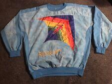 ADIDAS VINTAGE 1988 T'ROSE FLYER KELLY RIDGE ART WORK JERSEY SZ L/ LARGE *NICE*